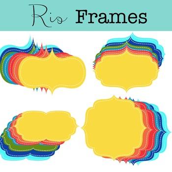 Rio Frames Clipart