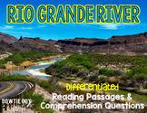 Rio Grande River Differentiated Nonfiction Reading Passages