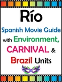 Rio Movie Guide in Spanish with Brazil and Environment Unit