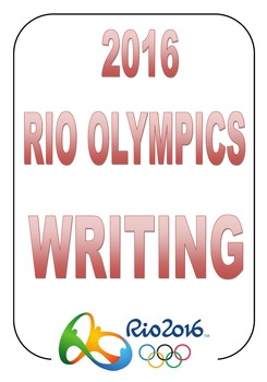 Rio Olympic Borders and Writing Lined Paper