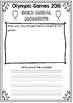 Rio Olympic Games Reflection Writing FREEBIE