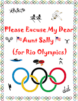 Rio Olympic Order of Operations