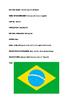 Rio Olympics. Brazil Fact Sheet