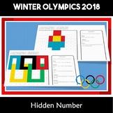 Winter Olympics 2018 South Korea PyeongChan  Hundreds Chart Hidden Picture