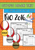 Rio Olympics Medal Tally Mini Book
