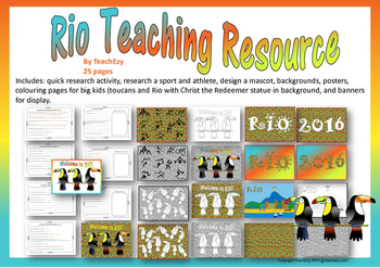 Rio Olympics Teaching Resource