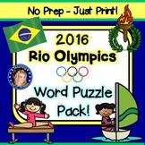 Rio Olympics Word Puzzles