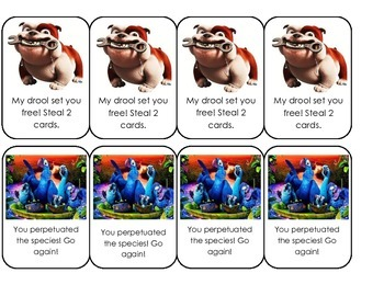 Rio R-Controlled Reading Card Game