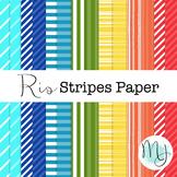 Rio Stripes Paper Set