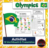 Summer Olympics Worksheets