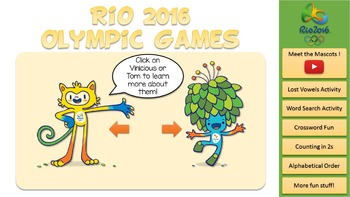 Summer Olympics Worksheets