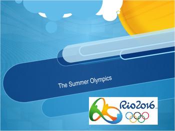Rio Summer Olympics 2016 PowerPoint
