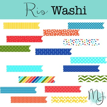 Rio Washi Tape Clipart