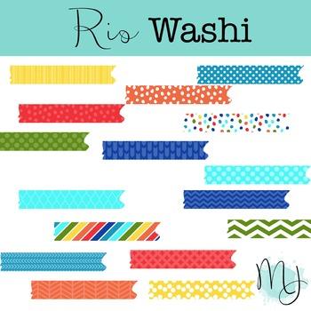 Rio Washi Tape Clipart