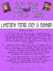 Rip 'Em and Stick 'Em: LITERARY TERMS (SET 1)