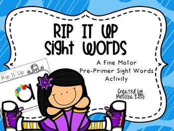 Rip It Up - A DOLCH Pre-Primer Sight Word Activity
