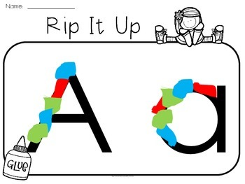 Rip It Up - Letters A-Z