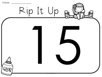Rip It Up - Numbers 0-20