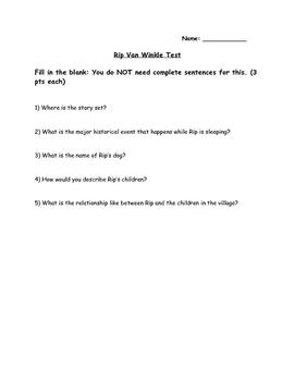 Rip Van Winkle Test