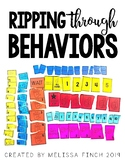 Ripping Through Behaviors- Behavior Tools for Special Education