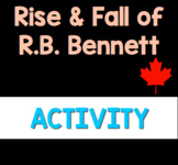 Rise & Fall of R.B. Bennett Podcast Activity (Print & Go!)