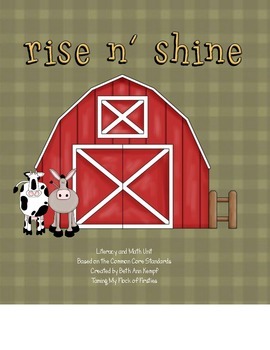 Rise 'N Shine Math and Literacy Centers (Common Core Standards 1st Grade)