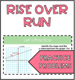 Rise Over Run Slope Practice Problems
