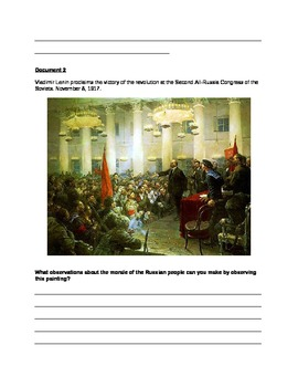 Rise and Fall of the Soviet Union/USSR DBQ