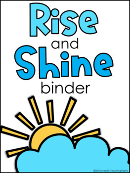 Rise and Shine Binder