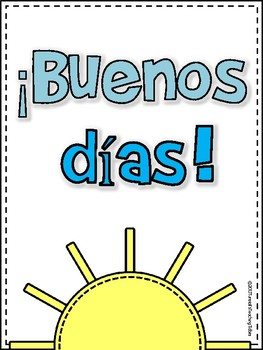 Rise And Shine Binder Spanish By Reagan Tunstall Tpt