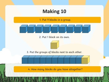 Rise and Shine Kindergarten Morning Math Operations in Base Ten (1) PowerPoint