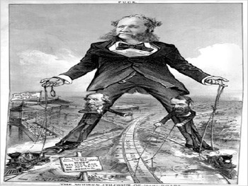Rise of American Business Political Cartoons