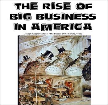 Rise of BIG Business in America
