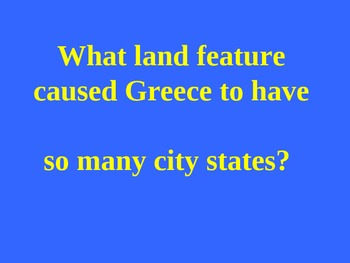 Unit 1 Rise of Civilization and Ancient Civilization Review-  Jeopardy part II
