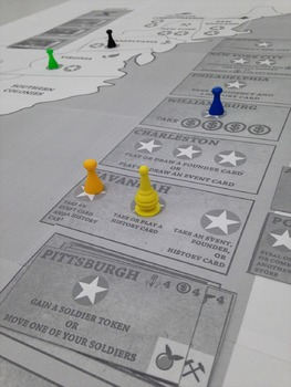 Rise of Columbia - Printable U.S History Strategy Board Game