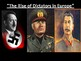 Rise of Dictators PowerPoint