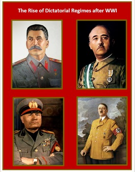 Rise of Dictators after WWI