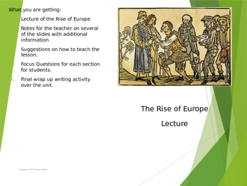 Rise of Europe Power Point