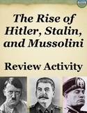 Rise of Europe's Totalitarian Leaders Activity