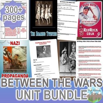 Between the Wars Unit  / Rise of Fascism *Unit Bundle* (Wo