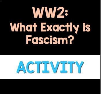 Rise of Fascism: What Exactly is Fascism Podcast Listening Activity