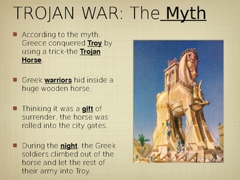 Rise of Greek Civilization PowerPoint  Notes Lesson Plan