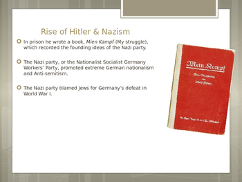 Rise of Hitler and Nazism PWP