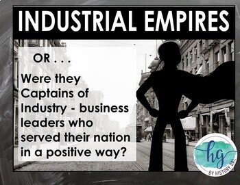 Rise of Industrial America 1865-1900 PowerPoint and Guided Notes
