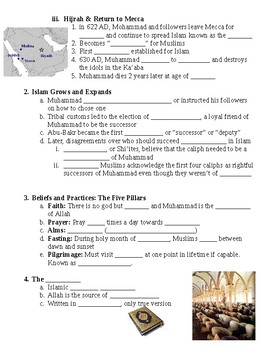 Rise of Islam Guided Lecture Notes