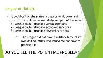 Mussolini, Tojo, and Failures of the League of Nations PP, Guided/Comp. Notes