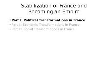 Rise of Napoleon PowerPoint