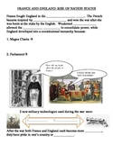 Rise of Nations-England and France-100 Years War & Joan of Arc Review Sheet