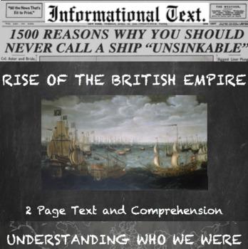 Rise of the British Empire