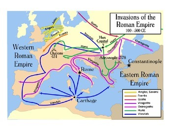 Rise of the Germanic States PowerPoint